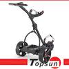Motorized Electric Golf Trolley Lithium Battery Three Wheels