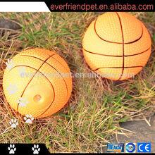 practice softball ,dog toy ,plastic basketball pet toy