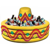 birthday-cake-shaped inflatable beverage cooler for party decoration