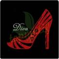 delta sigma teta elmas yüksek topuk ayakkabı giysi