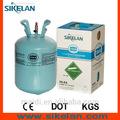 13.6kg/30 libras de gas refrigerante desechables cilindro r134a