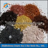 black/yellow/brown mica sheet