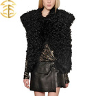 New hotsale products 2014 China sex girl or women animal fur clothes genuine sheep fur vest