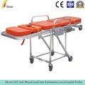 Multi als-s011 la postura de carga plegable silla de ambulancia camilla