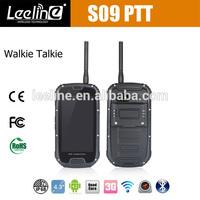 S09 with PTT Walkie talkie ip68 phone oem odm manufacturers selling mobile phones