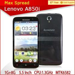 5.5inch Lenovo A850i Smartphone Android 4.2 1GB 8GB MTK6582 Multi language dropshipping