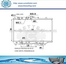 Auto Radiator For MAZDA 323 PROTEGE 90-94 AT