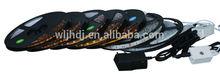 auto led light 12V 5050 rgb SMD 5m/roll led strip RGB LED strip lights