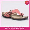 brilhante confortável e durável 2014 verão novo apartamento sandálias flip flop sapatos de senhora de alta qualidade e preço barato