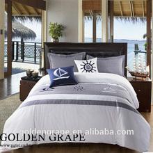 Hotel Minimalism simplism clean white/dyed/printed bedding comforter duvet cover set luxurious