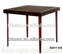 BQ square folding wooden teacher desk table