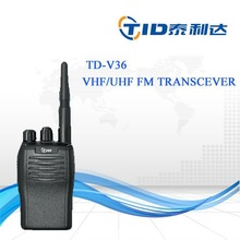 No keypad 16 channels vhf professional fm transceiver