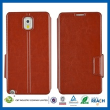 New Arrivals Mobile Phone Skin for note 3 flip leather cover