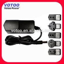 switching power adaptors 8.5v 1.4a,12v 1a,24v 0.5a,6v 2a,15v 0.8a,7.5v 1.5a,6v 1.8a,10v 1.2a,5v 2.4a 12w ac dc wall charger
