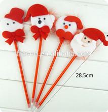 Red PLUSH Multi type hot sale novelty 2014 christmas gift pen
