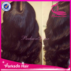 Middle part on sale top quality body wave long natural brazilian remy hair wet and wavy full lace wigs