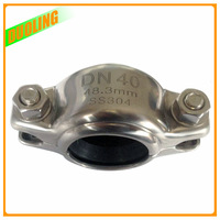 Galvanized pitbull ear cropping coupling foundry cast casting iron