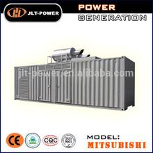 TOP BRAND: Mitsubishi Container Generators 520kw/650kva to 1600kw/2000kva from JLT POWER skype id edigenset