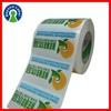 Fancy Logo Printed Self Adhesive Transparent Label,Custom Glossy Laminated Adhesive Clear Waterproof Label