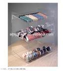 Acrylic chocolate display stand