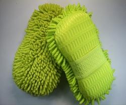 microfiber chenille car cleaning sponge