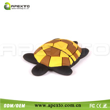 Customize pvc usb flash drive cute tortoise usb stick low mould fee fast design
