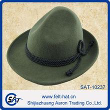 fashion 100% wool felt OKTOBERFEST hat,bavarian hat