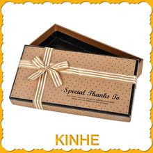 2014 Fashion high quality polka dot gift boxes