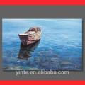 venda quente handmade da parede pintura de mar pintura em tela para a parede