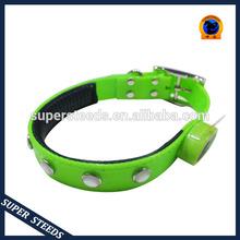 LED flashing negative ion dog collar