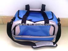 travel bag with adjustable shoulder strap with shoe bag