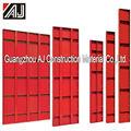 Guangzhou fabricante reutilizável aço formas para estrada de concreto