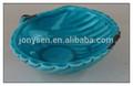 Cerâmica caracol do mar decoração, cerâmica shell trompete, diferentes cerâmica concha