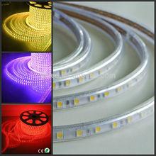 LED Christmas Lighting Single Color Smd 5050 LED Strip 220v 60/m fast shipping and cheap 5050 smd led lumen