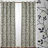 100% polyester popular design fabrics kitchen window curtains