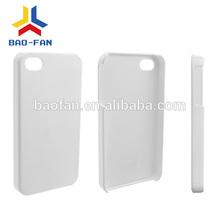 3D sublimation bulk phone cases, printing case for mobile phone, blank sublimation cell phone case