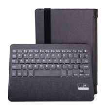 "For Lenovo Yoga B8000 10.1"" Tablet Detachable Bluetooth Keyboard And Stand Leather Keyboard Case Cover"