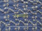 YJC16363 new design cotton soft net lace fabric