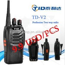 light weight hunt radio 5watts 3w portable zastone zt-q5 2 way radio