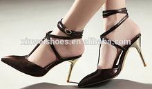 Pointed toe high heel shoe woman sexy pencil high heel shoe