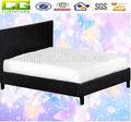 جلدية سوداء أثاث غرف النوم
