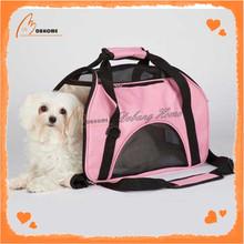 Cute OEM Alibaba Wholesale Unique Pink Travel Pet Carrier