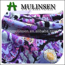 Mulinsen Textile High Quality Knit Jersey Vortex Rayon Elastane Fabric Discharge Printing
