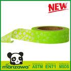 Manzawa paper tape green chevron