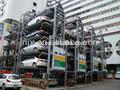 inteligente sistema de estacionamiento vertical