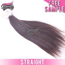 6A Full Cuticle Natural Raw indian natural straight human hair
