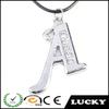 China Hot sale alphabets pendant designs jewelry
