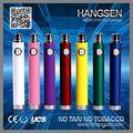 Hangsen partes de cigarrillos electrónicos venta al por mayor - recargable de la alta calidad de paso a través de la batería