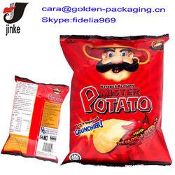 Intaglio printing food plastic packaging bag