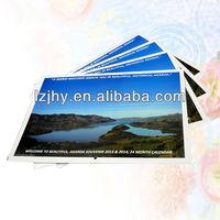 custom 2014 insert photo calendar printing